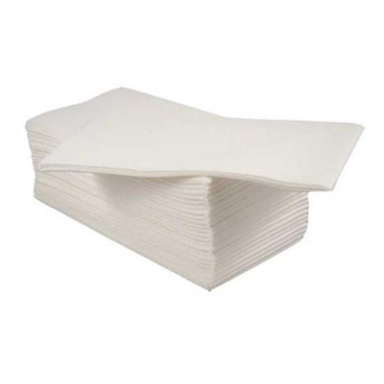 """Brycon White 8 Fold Airlaid Napkin 15.7"""" (40cm)"""
