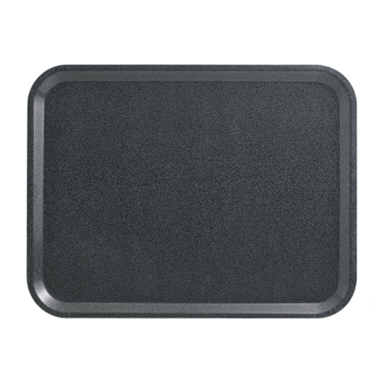 "Capri Charcoal Laminated Tray 17x13"" (43x33cm)"