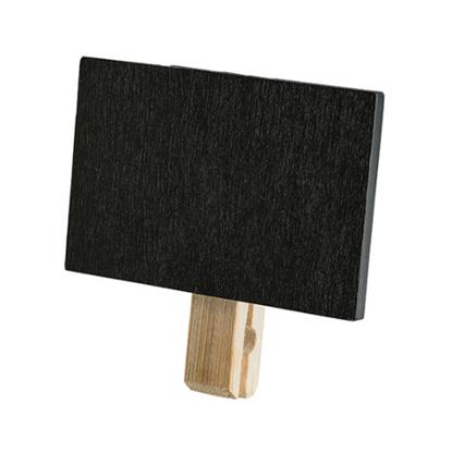 "Chalkboard With Clothespeg Clip 3x2.4"" (7.5x6cm)"