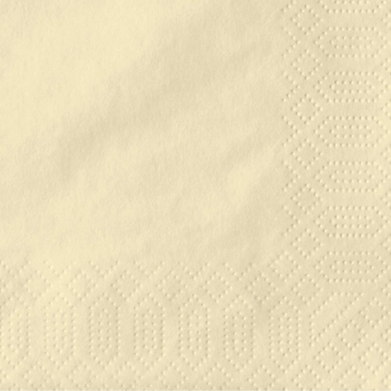 "Champagne Napkin 3 Ply 15.7"" (40cm)"