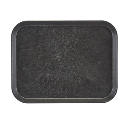 "Charcoal Serving Tray 12.8x10.4"" (32.5x26.5cm)"