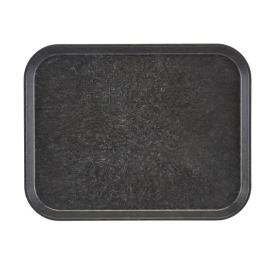 "Charcoal Serving Tray 12.8x10.4"" (32.5x26.5cm)"