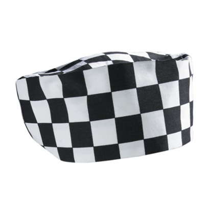 Checkered Chef Skull Cap