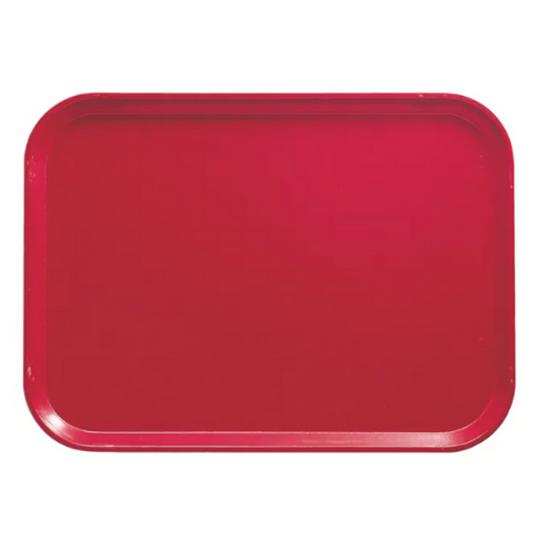 "Cherry Red Self-Service Tray 18x14"" (45.5x35.5cm)"
