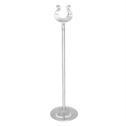 """Chrome Table Number Stand 12"""" (30.5cm)"""