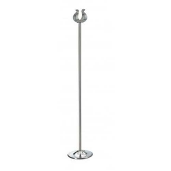 """Chrome Table Number Stand 18"""" (45.5cm)"""