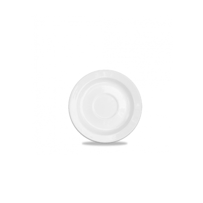 "Churchill Alchemy White Coffee Saucer 5"" (12.5cm)"