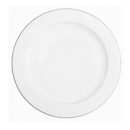 "Churchill Alchemy White Plate 10.5"" (26.5cm)"
