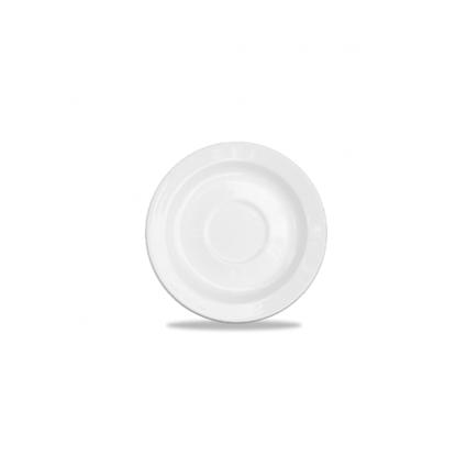 "Churchill Alchemy White Tea Saucer 6"" (16cm)"