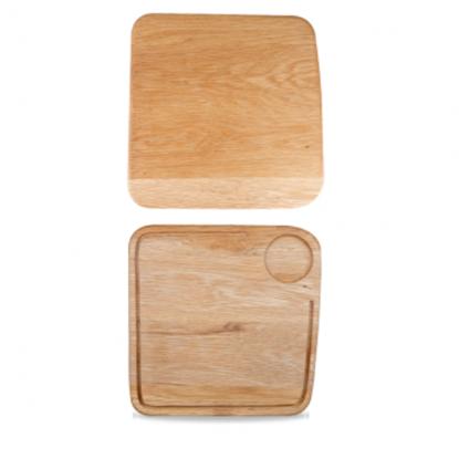 "Churchill Art De Cuisine Large Square Oak Board 11.5"" (29cm)"