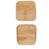 """8"""" (20cm) Churchill Art De Cuisine Small Square Oak Board"""