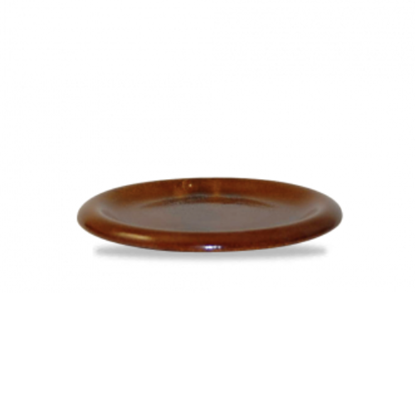 """Churchill Bit On The Side Brown Cover Plate/Lid 5.75"""" (14.5cm)"""