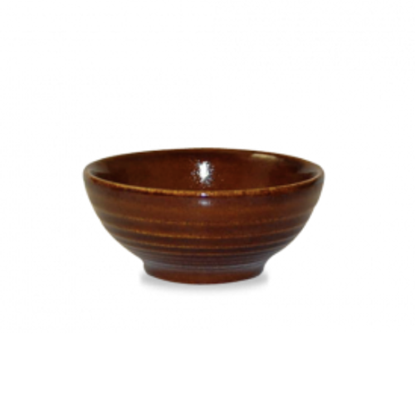 Churchill Bit On The Side Brown Ripple Snack Bowl 17cl (6oz)