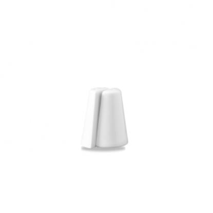 Churchill Classic White Odyssey Pepper Shaker 3.5″ (8.8cm)