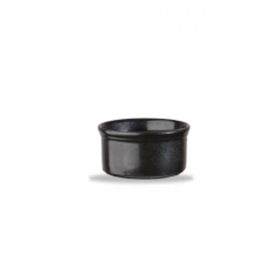 Churchill Cookware Black Small Ramekin 9cl (3.2oz)