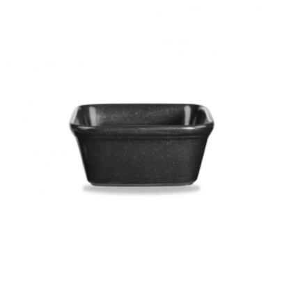Churchill Cookware Black Square Pie Dish 45cl (15.8oz)