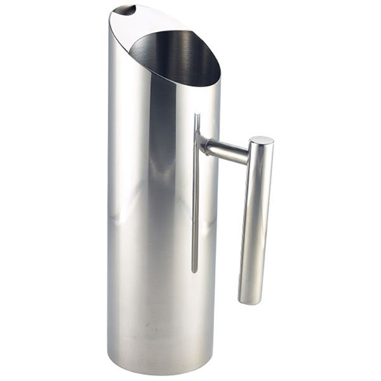 Stainless Steel Cylindrical Water Jug 1.2L