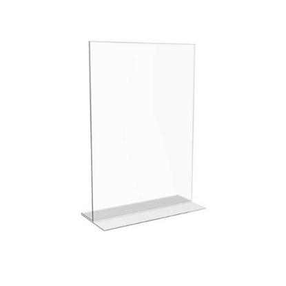Clear Acrylic Menu Holder A7