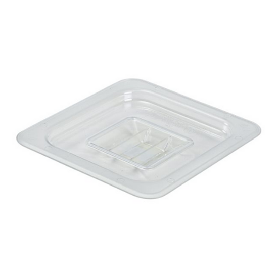 Clear Gastronorm Food Pan Lid 1/6