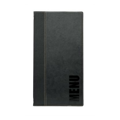 Contemporary A4 Menu Holder Black