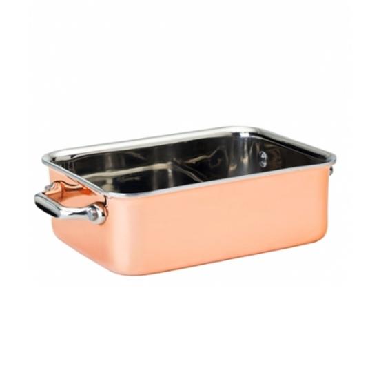 "Copper Roasting Dish 6x4.5"" (15x11.5cm)"