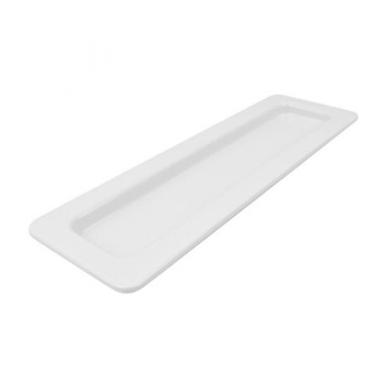 Dalebrook 2/4 White Tray 900ml