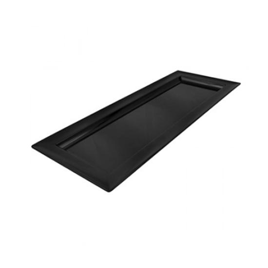 Dalebrook Black Melamine Rectangular Platter 1L