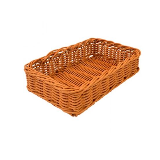 """Dalebrook Polywicker Basket 15.7x9.8x3.9"""" (40x25x10cm)"""