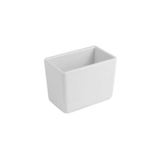 Dalebrook White Rectangular Crock 0.6L