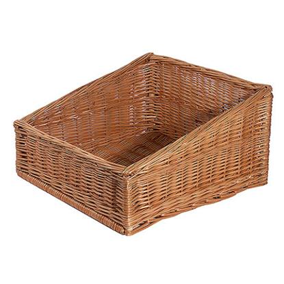 """Dark Willow Basket 17.7x17.7"""" (45x45cm)"""