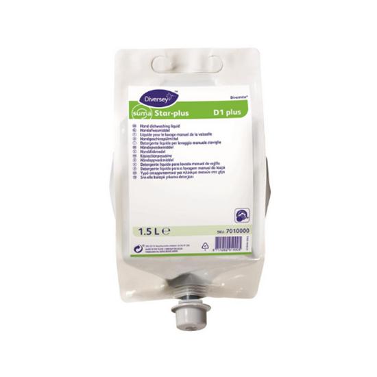 Diversey D1 Pouch-Hand Dishwashing Liquid 1.5L
