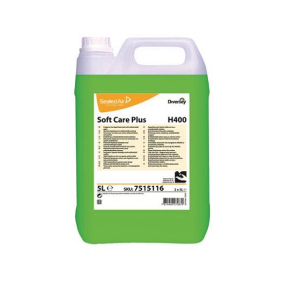 Diversey Plus H400-Anti-Bac Unperfumed 5L