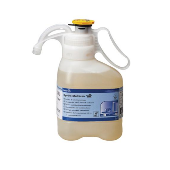 Diversey Smartdose Sprint 4 In 1 Glass & Hard Surface Cleaner 1.4L