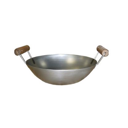 "Double Handed Carbon Steel Wok 14"" (36cm)"
