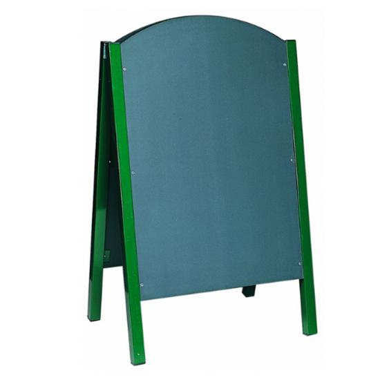 "Double Sided Black Chalk Board 43.3x26.8"" (110x68cm)"