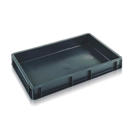 Grey Dough Box Stackable 600x400x75mm High