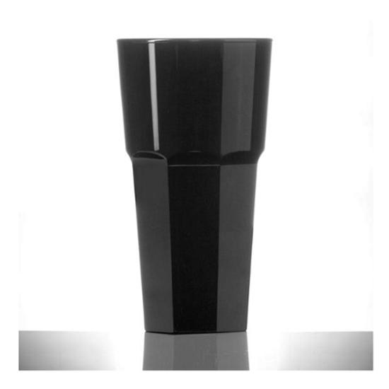 Elite Remedy Black Polycarb Glass 35.5cl (12oz)