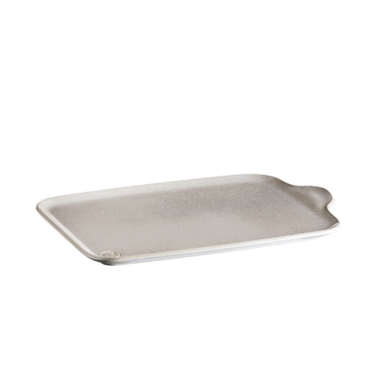 "Emile Henry Tapenade XL Appetizer Platter 12.6x8.3"" (32x21cm)"