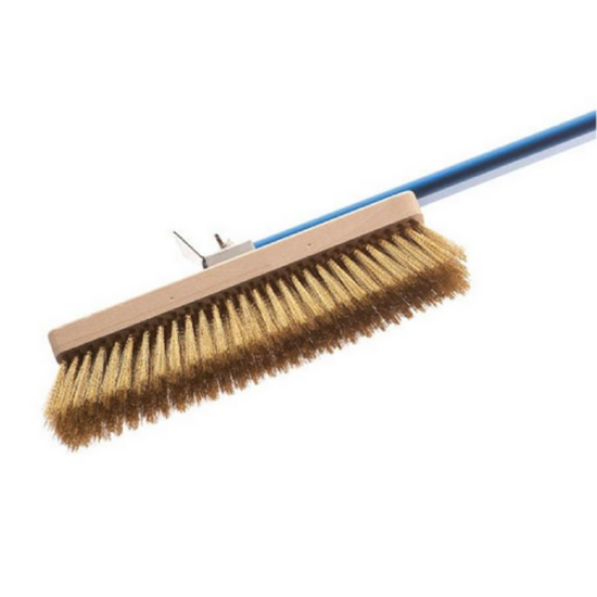 Oven Brush With Brass Bristles (27x8cm)