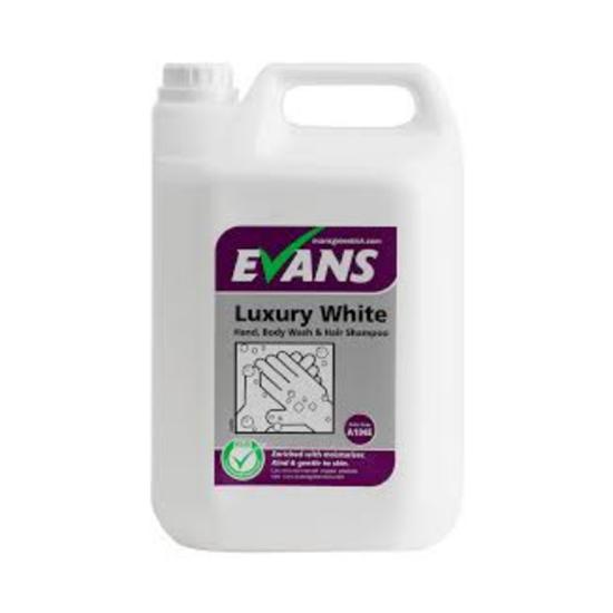 Evans Luxury White Soap 5L