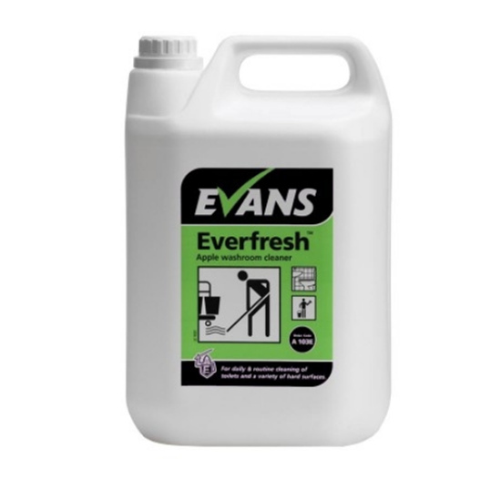 Everfresh Apple Scented Toilet Cleaner 5L