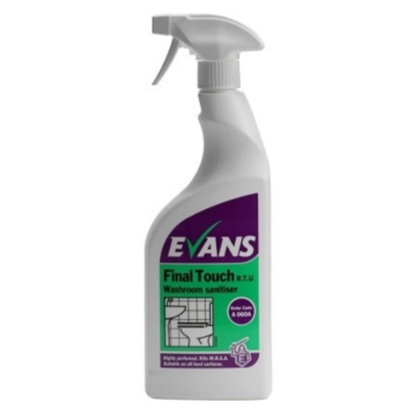 Evans Final Touch Washroom Sanitiser 750ml