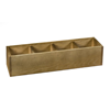 Four Section Wooden Utility Holder