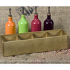 Wooden Utility Holder Four Section