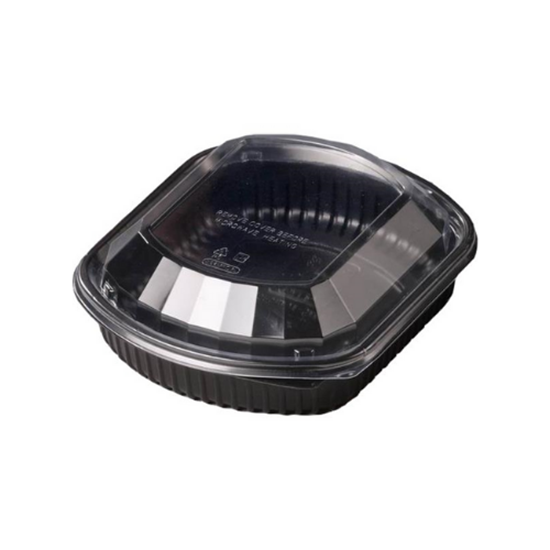 Lid For Black One Compartment Container 36oz