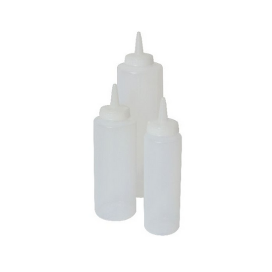Genware Squeeze Bottle Clear 35cl (12oz)