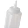35cl (12oz) Genware Squeeze Bottle Clear