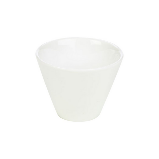 Genware White Conical Bowl 30cl (10.5oz)