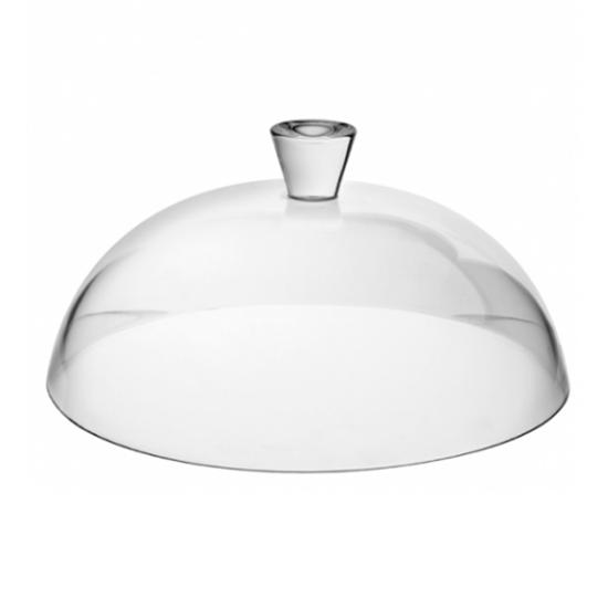 """Glass Cake Dome 12.5"""" (32cm)"""