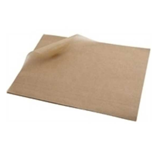 """Greaseproof Paper Sheets Plant Based Lining 17x9.8"""" (43x25cm)"""